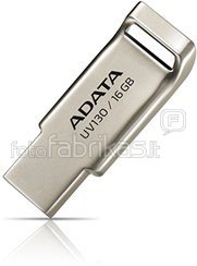 A-DATA FlashDrive UV130 8GB Champagne Golden USB 2.0 Flash Drive, Retail