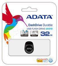 A-DATA Miniature AUD310 32GB Black USB 2.0 Flash Drive
