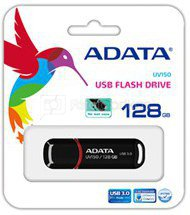 A-Data UV150 128 GB, USB 3.0, Black