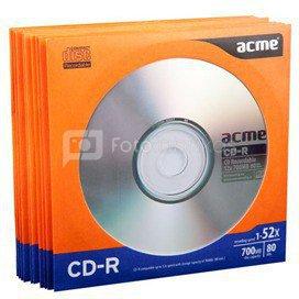ACME CD-R 80/700MB 52X 10pack paper sleeves