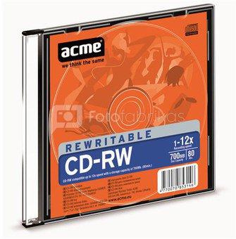 ACME CD-RW 80/700MB 12X slim box