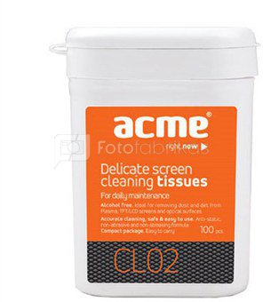 ACME Cleaning Wipes for TFT/LCD Screen 100 pcs