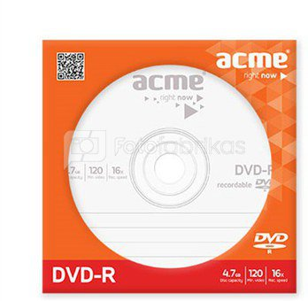 ACME DVD-R 120min/4,7 GB 16X Paper sleeve