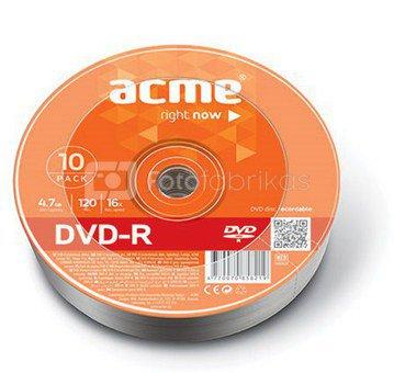 ACME DVD-R 4.7GB 16X 10pack shrink