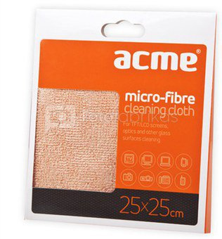 ACME Microfibre cloth for glass - Cleaning Wipes for Lens and other glass surfaces