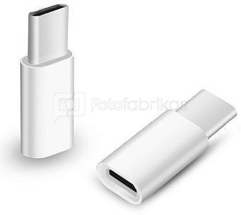Adapteris USB 2.0 C - Micro USB