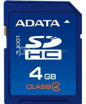 A-Data 4GB SDHC Class 4 atminties kortelė