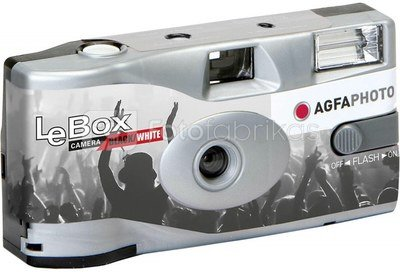 Agfa LeBox Flash Black & White 400/36
