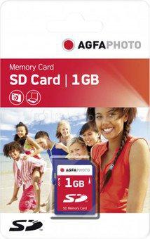 AgfaPhoto SD card 1GB