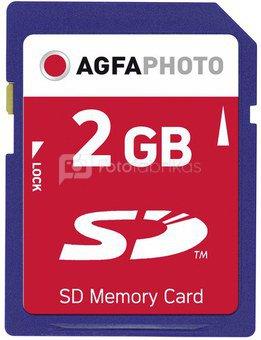 AgfaPhoto SD Card 2GB 133x Premium