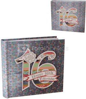 Albumas 16-tam gimtadieniui 10x15 nuotraukoms LD14716 psb
