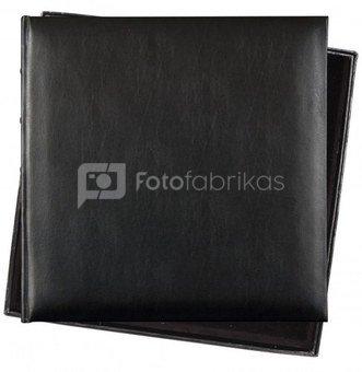Albumas INNOVA Q609935 Black Bond Leather 36x36, 60 psl| kampučiai/lipdukai | max 10x15 360 | su dėžute | oda
