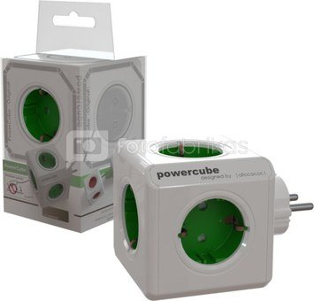 Allocacoc PowerCube Original green Type F for Extended Cubes