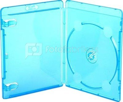 Amaray Blu-Ray case 14mm, light blue