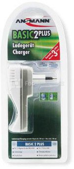 Ansmann Basic 2 plus Plug in charger
