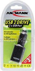 Ansmann USB 2 Drive 12V car