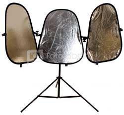 Atšvaitų komplektas Lastolite Triflektor MkII Sunfire/Silver