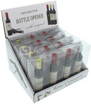 Atidarytuvas buteliui Vyno buteliukas H:12 W:19 D:17 cm HM1158