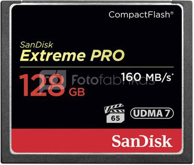 SanDisk Extreme Pro CF 128GB 160MB/s SDCFXPS-128G-X46