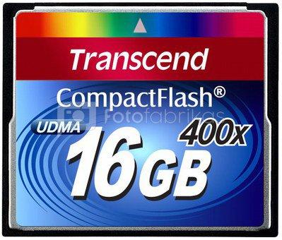 Transcend Compact Flash 16GB 400x