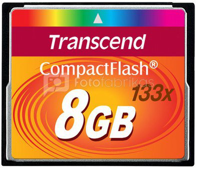 Transcend Compact Flash 8GB 133x