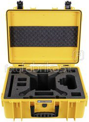 B&W Copter Case Type 6000/Y for DJI Phantom 3 yellow
