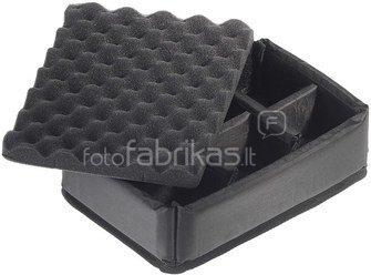 B&W International Type 1000 black incl. Padded Divider