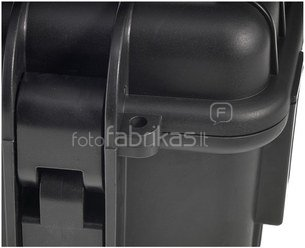 B&W International Type 1000 black incl. pre-cut foam