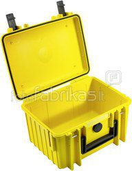 B&W International Type 2000 yellow incl. pre-cut foam
