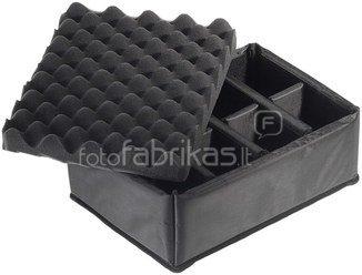 B&W International Type 3000 black incl. Padded Divider