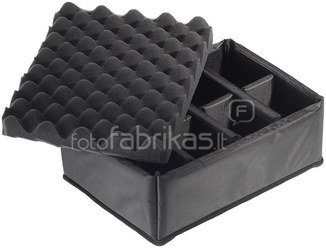 B&W International Type 3000 black incl. Padded Divider