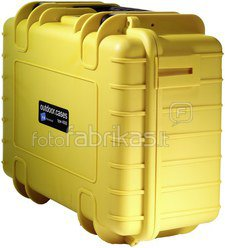 B&W International Type 4000 yellow incl. Padded Divider
