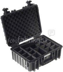 B&W International Type 5000 black incl. Padded Divider