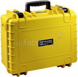 B&W International Type 5000 yellow incl. Padded Divider