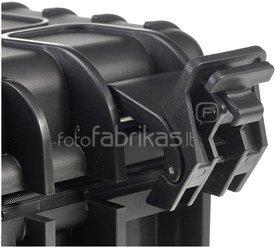 B&W International Type 6000 black incl. pre-cut foam