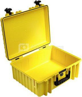 B&W International Type 6000 yellow incl. Padded Divider