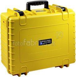 B&W International Type 6000 yellow incl. pre-cut foam