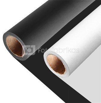 Background paper 2,75x11m Set 1x Arctic White and 1x Black