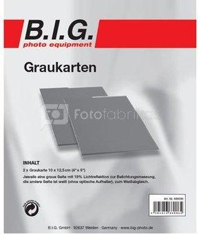 BIG grey card kit 10x12cm 2pcs