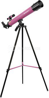 Bresser Junior 50/600 AZ pink Refractor telescope
