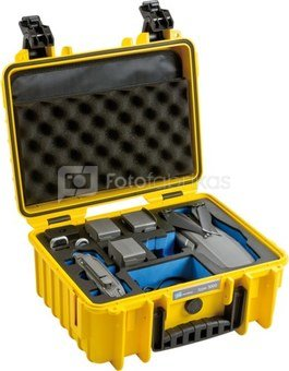 BW DRONE CASES TYPE 3000 DJI MAVIC 2 (PRO/ZOOM) INCL. FLY MORE KIT YELLOW
