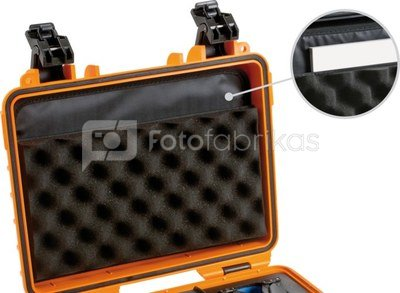 BW OUTDOOR CASES LP LID POCKET /LP FOR TYPE 4000