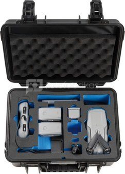 BW OUTDOOR CASES TYPE 4000 FOR DJI MAVIC AIR 2 FLY MORE COMBO (CHARGE-IN-CASE) BLACK