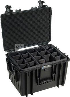 BW OUTDOOR CASES TYPE 5500 BLK RPD (DIVIDER SYSTEM)