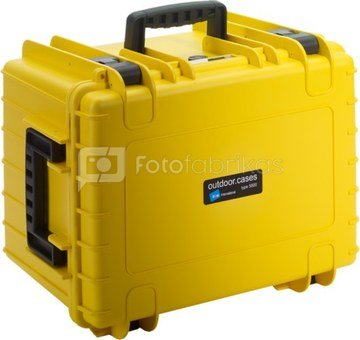 BW OUTDOOR CASES TYPE 5500 YEL RPD (DIVIDER SYSTEM)