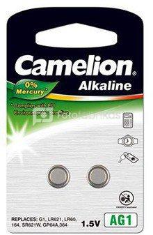 Camelion AG1/LR60/LR621/364, Alkaline Buttoncell, 2 pc(s)