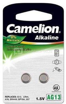 Camelion AG13/LR44/357, Alkaline Buttoncell, 2 pc(s)