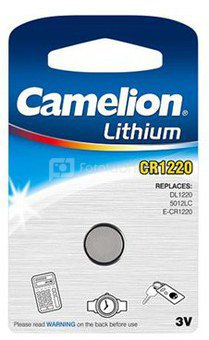 Camelion CR1220-BP1 CR1220, Lithium, 1 pc(s)