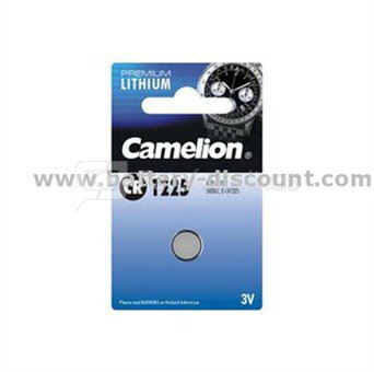 Camelion Lithium Button celles 3V (CR1225), 1-pack 1-pack maitinimo elementai