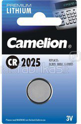 Camelion Lithium Button celles 3V (CR2025), 1-pack 1-pack maitinimo elementai